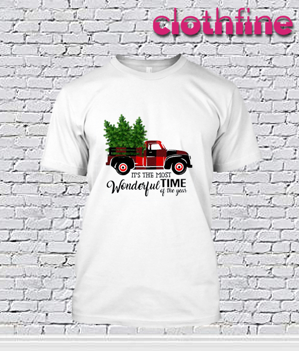Buffalo Plaid Truck T-Shirt