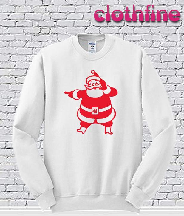 Santa Clause red Sweatshirt