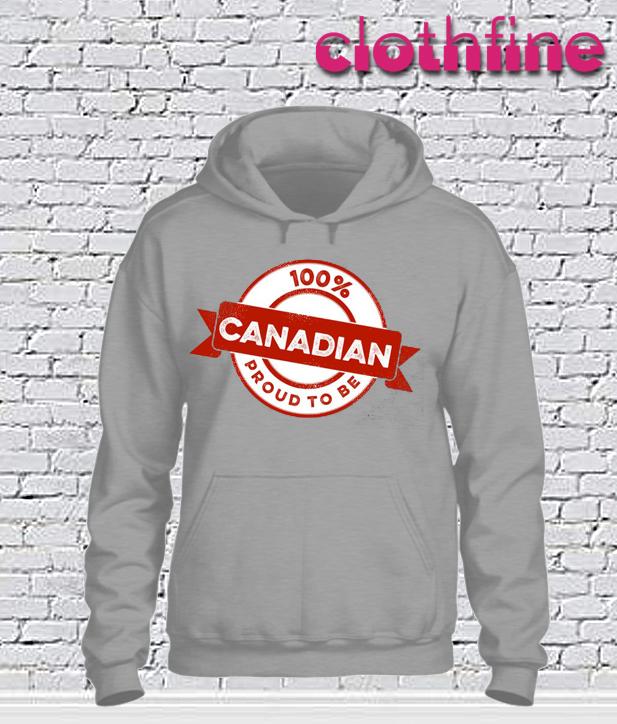 100% Canadian Hoodie