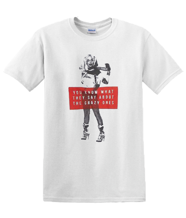 Suicide Squad Harley Quinn Quote RSK graphic T-shirtSuicide Squad Harley Quinn Quote RSK graphic T-shirt