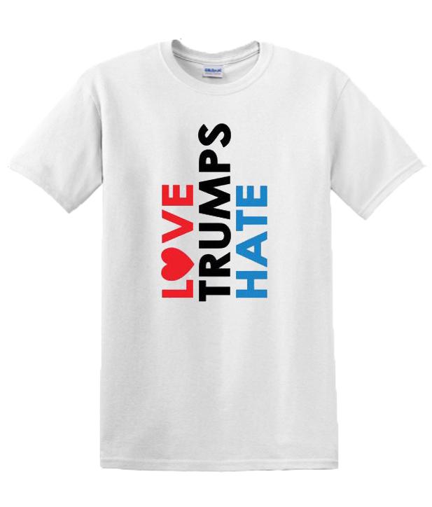 Love Trumps Hate Raglan Youth RSK T-shirt