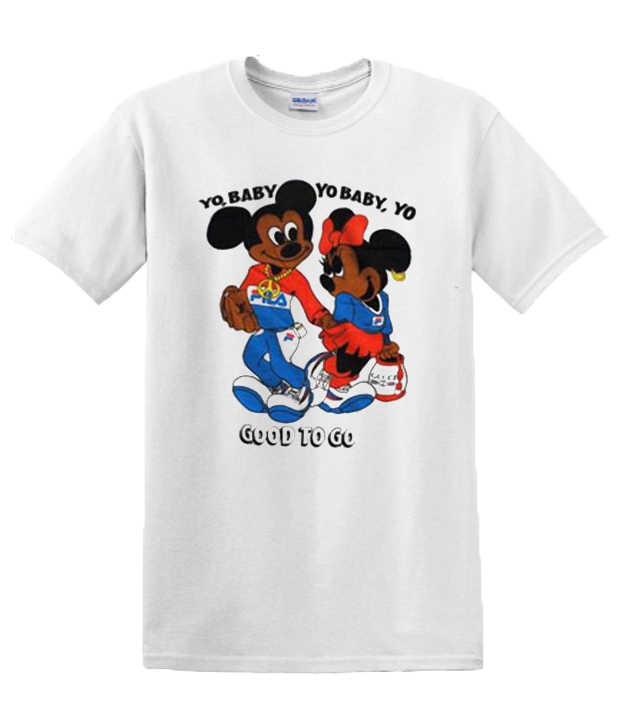Mickey Minnie Yo Baby Yo Baby Good To Go Vintage RSK T-shirt
