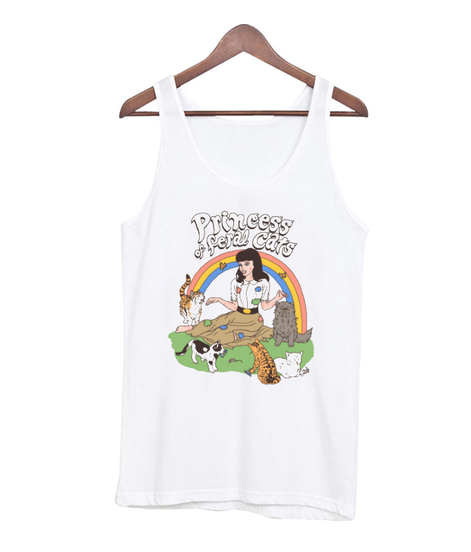Princess Of Feral Cats RSK Tank top