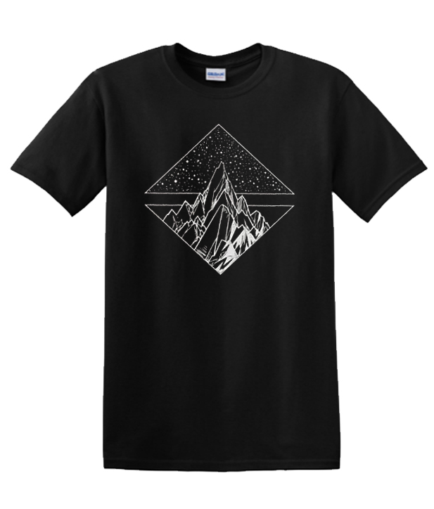 Star Mountain Design Flowy Muscle RSK T-shirt